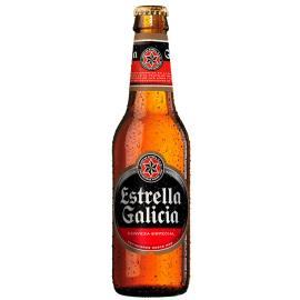 Cerveja Estrella Galicia Premium Lager Garrafa 500ml