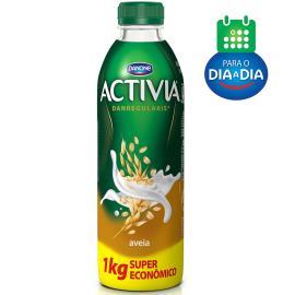Iogurte Activia Aveia Líquido Super Econômico 1kg