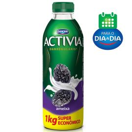 Iogute Activia Ameixa Líquido Super Econômico 1kg