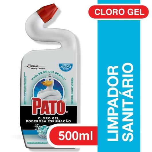 Limpador Sanitário Pato Cloro Gel Ativo Marine 500ml - Imagem em destaque