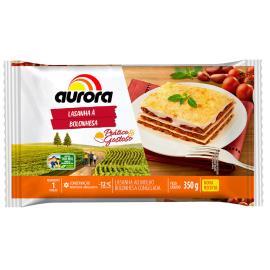 Lasanha à bolonhesa Aurora 350g