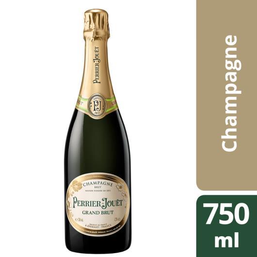 Champagne Grand Brut Perrier Jouet garrafa 750ml - Imagem em destaque