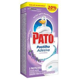 Pastilha adesiva Pato 4 em 1 lavanda com 20% de desconto