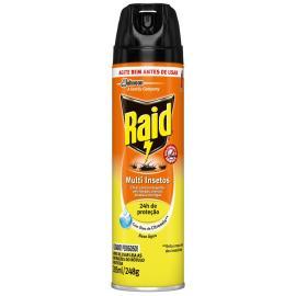 Inseticida Raid Multi-insetos Spray Citronela 285ml