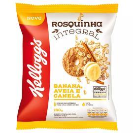 Rosquinha Integral banana, aveia e canela Kellogg's Pacote 150g