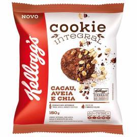 Cookie Integral cacau, aveia e chia Kellogg's Pacote 150g