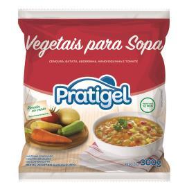 Vegetais Pratigel Sopa 300g