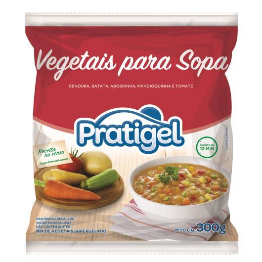 Vegetais Pratigel Sopa 300g - Imagem em destaque