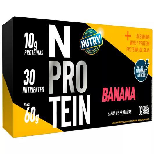 Barra Proteína banana N Nutry 60g - Imagem em destaque