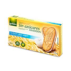 Biscoito recheado Creme de iogurte Diet Nature Gullon 220g