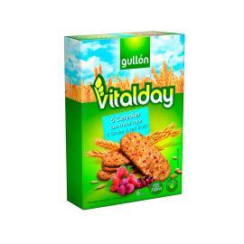 Biscoito Cereais Integrais Frutas Vermelhas Vitalday Gullon 240g