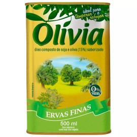 Óleo composto ervas finas Olívia 500ml