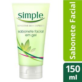 Sabonete Líquido Simple Gel Facial Refresh 150ml