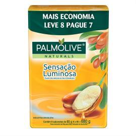 Sabonete Barra Palmolive Naturals Sensação Luminosa 85g Promo Leve 8 Pague 7