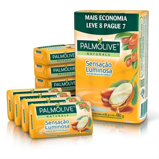 Sabonete Barra Palmolive Naturals Sensação Luminosa 85g Promo Leve 8 Pague 7 - Imagem em destaque