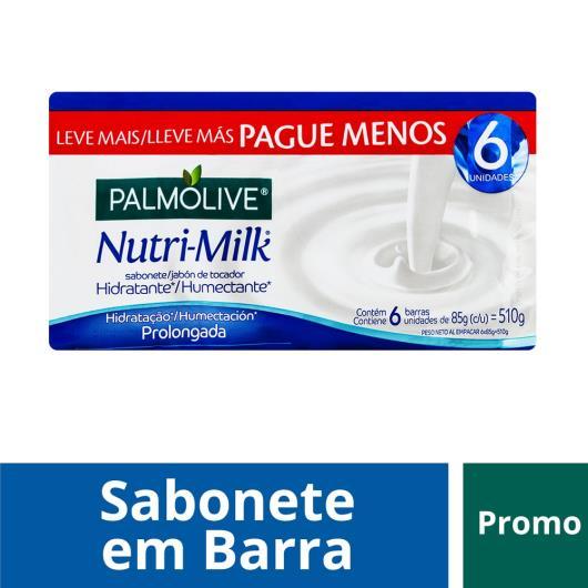 Sabonete Barra Hidratante Palmolive Nutri-milk 85g Promo Leve + Pague - - Imagem em destaque