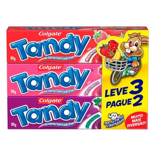 Gel dental Tandy Leve 3 Pague 2 50g cada - Imagem em destaque