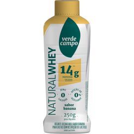 Iogurte natural banana Whey Verde Campo 250g