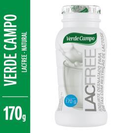 Iogurte zero lactose natural Lacfree Verde Campo 170g