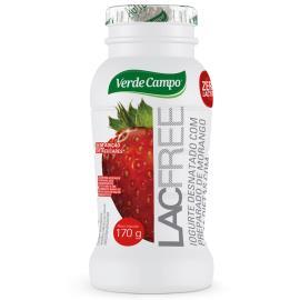 Iogurte morango Lacfree Verde Campo 170g