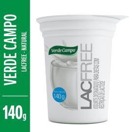 Iogurte natural Lacfree Verde Campo 140g