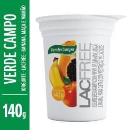 Iogurte banana maçã e mamão Verde Campo 140g