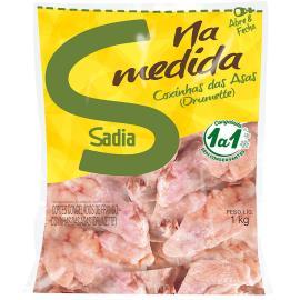 Coxinha da asa de frango Sadia congelada 1kg