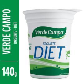 Iogurte diet natural Verde Campo 140g