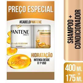 Shampoo 400ml + condicionador 175ml hidratação Pantene unidade
