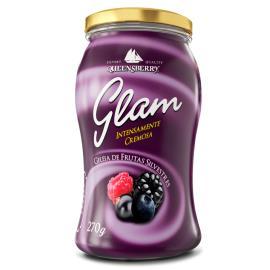 Geleia Cremosa frutas silvestres Glam Queensberry Pote 270g