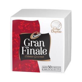 Guardanapo Folha dupla Gran Finale Coquetel 22,5 x 23 cm