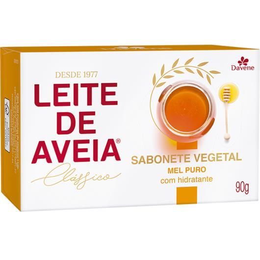 Sabonete Leite de Aveia mel puro Davene 90g - Imagem em destaque