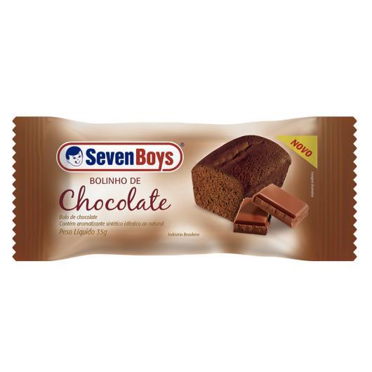 Bolinho Seven Boys Chocolate 35g - Imagem em destaque