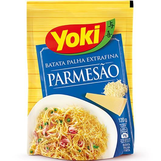 Batata Palha Yoki Parmesão 120g - Imagem em destaque