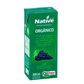 Néctar Orgânico Native Uva 200ml