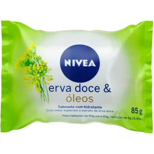 Sabonete em Barra NIVEA Erva Doce & Óleos 85g - Imagem em destaque