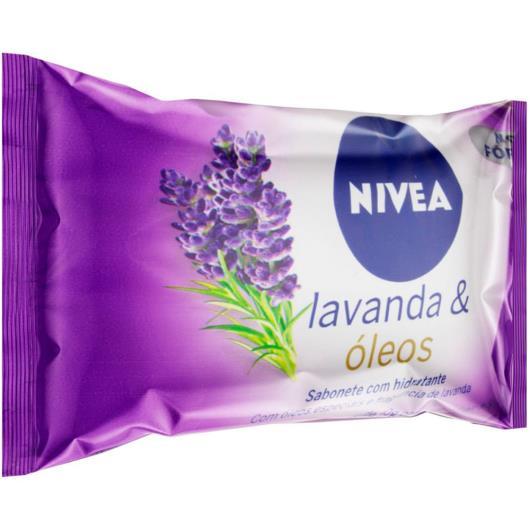 Sabonete em Barra NIVEA Lavanda & Óleos 85g - Imagem em destaque