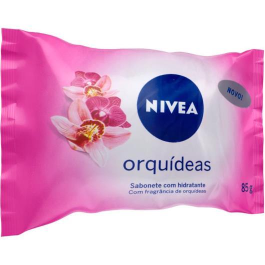 Sabonete em Barra NIVEA Orquídeas 85g - Imagem em destaque