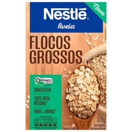 Aveia organica flocos grossos Nestle 170g