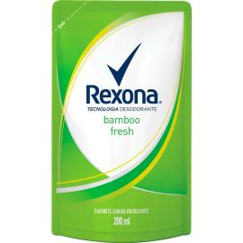 Sabonete líquido fresh bamboo Rexona 200ml
