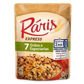 Arroz 7 grãos Express Ráris 220g