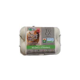Ovos caipira vermelho grande orgânico selênio vitamina E Fazenda Toca 6uns.