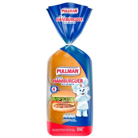 Pão de hambúrguer sem gergelim Pullman 200g - Imagem em destaque
