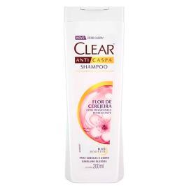 Shampoo Clear Anticaspa Flor de Cerejeira 200ml