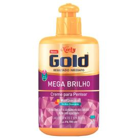 Creme de pentear Niely Gold Mega Brilho 280gr