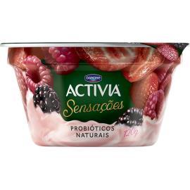 Iogurte Activia Sensações frutas silvestres 120g
