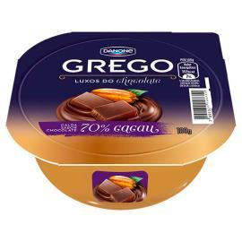 Iogurte chocolate 70 cacau Grego Danone 100g