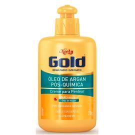 Creme para pentear óleo de argan Niely Gold 280g