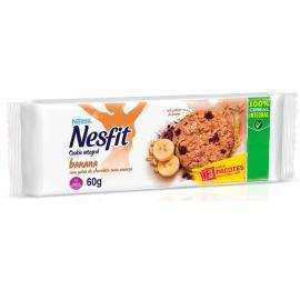 Biscoito integral cookie banana Nesfit 60g