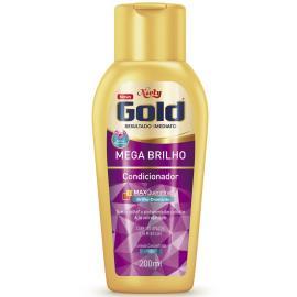 Condicionador Niely Gold Mega Brilho 200ml